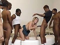 Big Cock, Big Tits, Black, Blonde, Blowjob, Cumshot, Deepthroat, Facial, Gangbang, Hardcore,