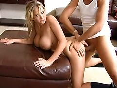 Alanah Rae, Big Tits, Blonde, Dick, From Behind, Mature, Riding,
