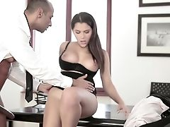 Babe, Desk, European, Hardcore, Office, Secretary, Teen, Valentina Nappi, White, Young,
