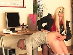 Blonde, Femdom, Fetish, Hardcore, MILF, Mistress, Punishment, Spanking,