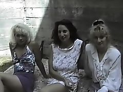 Classic, First Time Lesbian, First Timer, Lesbian, Retro, Threesome, Vintage, Virgin,