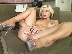 Big Tits, Bikini, Blonde, Blowjob, Clamp, Couple, Cowgirl, Dick, Doggystyle, Fake Tits,