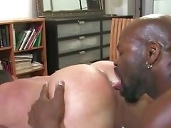 Big Black Cock, Interracial, White,