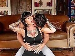 Ass, Babe, Big Tits, Brunette, Coach, Condom, Cumshot, Doggystyle, Fake Tits, Handjob,
