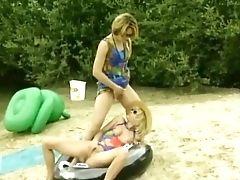 Amateur, Beach, Classic, Game, Lesbian, Outdoor, Pissing, Retro, Vintage,