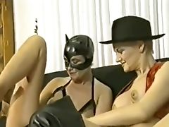 Dildo, German, Latex, Pissing, Sex Toys, Threesome,