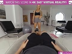 Bra, Coach, Couple, Dick, Long Hair, MILF, Nicole Aniston, Pornstar, POV, Shorts,