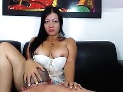 Latina, Lecken, Muschi, Webcam,
