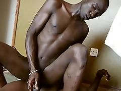 African, Anal Sex, Bareback, Black, Blowjob, Couple, HD, Oral Sex, Pissing, Rimming,