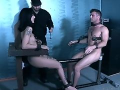 BDSM, Blowjob, Bold, Bondage, Boobless, Deepthroat, HD, Husband, Kinky, Lingerie,