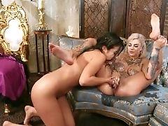 69, Ass, Bedroom, Big Tits, Blonde, Bonnie Rotten, Brunette, Corset, Dildo, Dress,