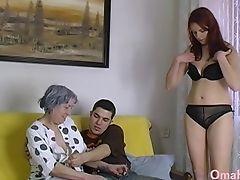 Amateur, Couple, Exhibitionist, Granny, Horny, Jerking, Mature, Sex Toys,