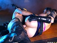 Ass, Big Cock, Blowjob, Bukkake, Cumshot, Facial, Hardcore, High Heels, Leather, Missionary,