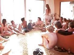Big Tits, Brunette, Classic, Group Sex, Hairy, Interracial, MILF, Retro, Vintage,