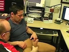 Blowjob, Circumcised, Grandpa, Handjob, Jerking, Muscular, Old,