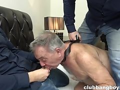 Ass, Big Cock, Blowjob, Dildo, Grandpa, HD, Old And Young, Sex Toys, Threesome,