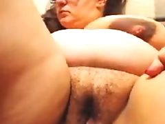 BBW, Big Tits, Hairy, Huge Tits, Masturbation,