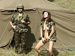 Army, Babe, Big Tits, Classic, Horny, Jerking, Redhead, Retro, Vintage, Young,
