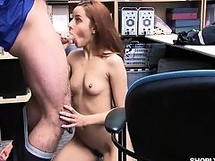 Ass, Big Cock, Blowjob, Boobless, Boss, Doggystyle, Hardcore, Long Hair, Missionary, Office,