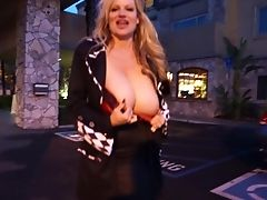 Tolle, Große Titten, Blond, Klemme, Paar, Doggystyle, Glanz, Hardcore, Hd, Kelly Madison,