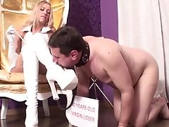 BDSM, Blonde, Bondage, Boots, Feet, Hardcore, High Heels, Latex, Mature, Mistress,