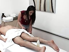 Ball Licking, Big Ass, Blowjob, Boots, Brunette, Chinese, Cute, Ethnic, Gagging, Handjob,