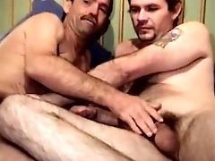 Bear, Blowjob, Couch, Couple,