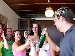 Blowjob, Bride, Clothed Sex, Drunk, Group Sex, Hardcore, Oral Sex, Orgy, Party, Sarah Twain,