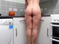 British, Brunette, Hairy, MILF, Mom, Nude,