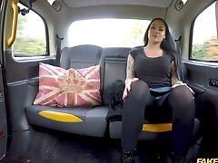 Brunette, Car, Rough, Taxi, Tori Black,