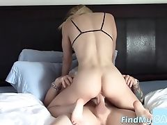 Babe, Big Cock, Blonde, Blowjob, Bra, Couple, Cowgirl, Hardcore, Pussy, Webcam,
