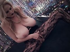 Big Tits, Blonde, Fingering, Kelly Madison, Lingerie, Masturbation, MILF, Model, Natural Tits, Pornstar,