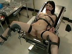 Asphyxia Noir, BDSM, Big Tits, Bondage, Brunette, Clinic, Extreme, Nurse,