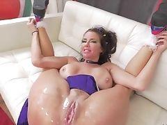 Anal Sex, Big Tits, Blowjob, Cheerleader, Cumshot, Deepthroat, Face Fucking, Facial, Fingering, Hardcore,