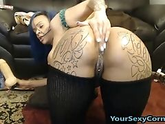 Big Ass, Black, Double Penetration, Extreme, Gagging, Ghetto, Masturbation, Model, Solo, Stockings,