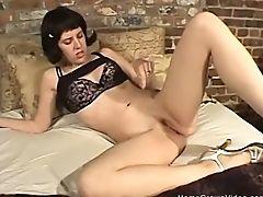 Amateur, Aftrekken, Lingerie, Masturbatie, Seksspeeltjes, Sexy, Webcam, Vrouw,