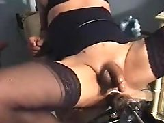 Big Cock, Fisting, Fucking, Fucking Machine, Group Sex, Interracial, Riding, Sex Toys,