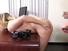 Anal Sex, Blowjob, Casting, Couple, Dick, Fingering, Handjob, Hardcore, Long Hair, Missionary,