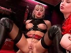 Anal Sex, Blonde, Blowjob, Boots, Close Up, Corset, Doggystyle, Domination, HD, Huge Cock,