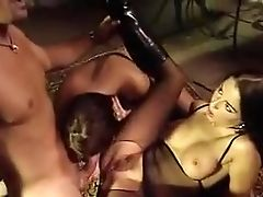 Anal Sex, Brunette, Maria Bellucci, Threesome,