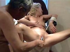 Blonde, Blowjob, Bondage, Couple, Cum, Fetish, Hardcore, MILF, Natural Tits, Sex Toys,
