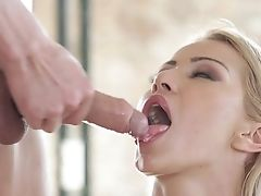 Anal Sex, Ass, Babe, Beauty, Blonde, Blowjob, Boobless, Couple, Cum In Mouth, Cumshot,