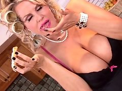 Big Cock, Big Tits, Blonde, Blowjob, Clothed Sex, Couple, Gorgeous, Hardcore, Housewife, Housewife Kelly,