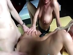 Blowjob, Doggystyle, German, Group Sex, Hardcore, Long Hair, MILF, Missionary, Natural Tits, Piercing,