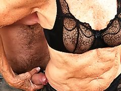 Granny, Old, Old And Young, Rough, Sex Toys,