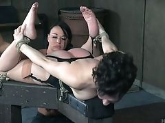 BDSM, Bondage, Clit, Cute, Hogtied, Rough, Whore,