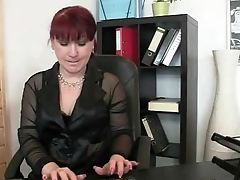 Business Woman, Granny, Group Sex, Mature, Stud, Threesome,