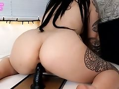 Big Ass, Black, Dildo, Ethnic, Naughty, Slut,