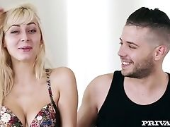 Audition, Blonde, Boyfriend, Casting, Couple, Dirty Talk, Girlfriend, Softcore,