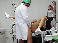 Babe, Bold, Brunette, Doctor, Gyno, Hardcore, Oral Sex, Uniform, Wild,